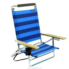Beach Chairs On Wheels Small Space Wooden Armrests Shoulder Straps Folding Backpack