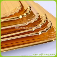 Gold Paper Plate / Rectangle Paper Plate / Round Paper Plate