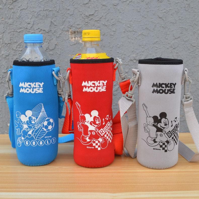 Neoprene Water Bottle Holder With Shoulder Strap