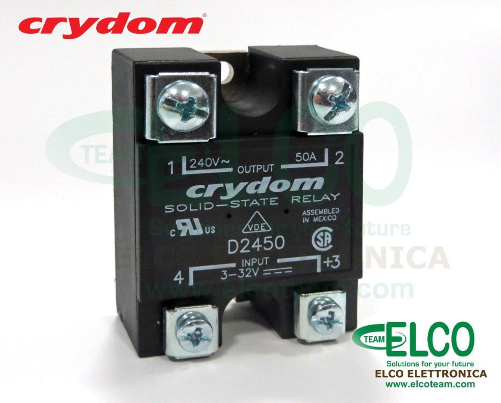 Solid State Relay Crydom D 50a 240vac