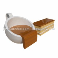 Creative Furniture Fiberglass Table And Chair,Coffee Cup ...