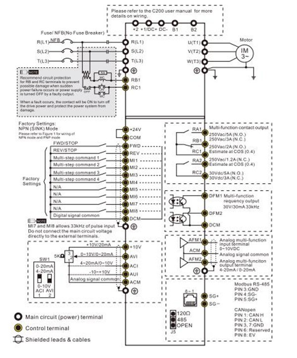 addc not allowed that type of wiring