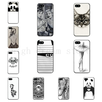 PC Hard Back cell phone cases for Apple iPhone 5 5S 5G