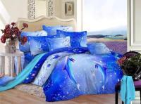 Aliexpress.com : Buy 3D Blue Ocean bedding set queen size ...