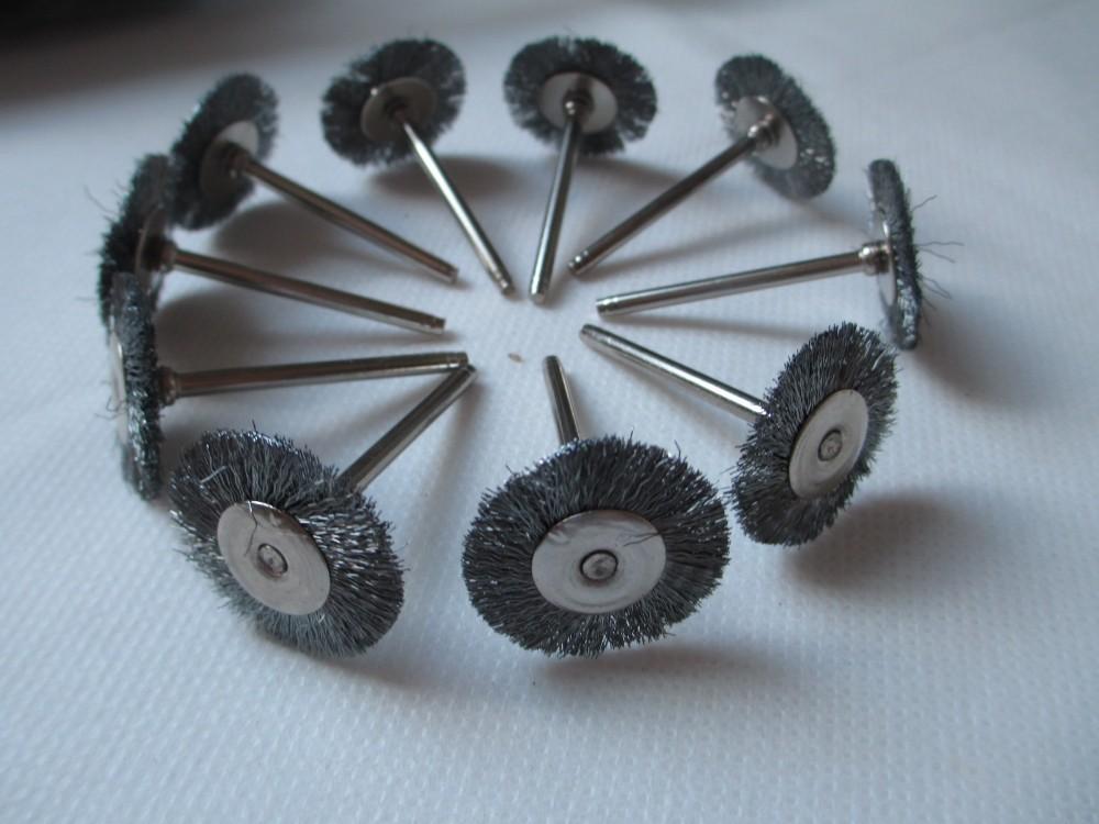 ツ)_/¯Fixmee 20pcs Stainless Steel Wire Wheel Brushes for Die ...