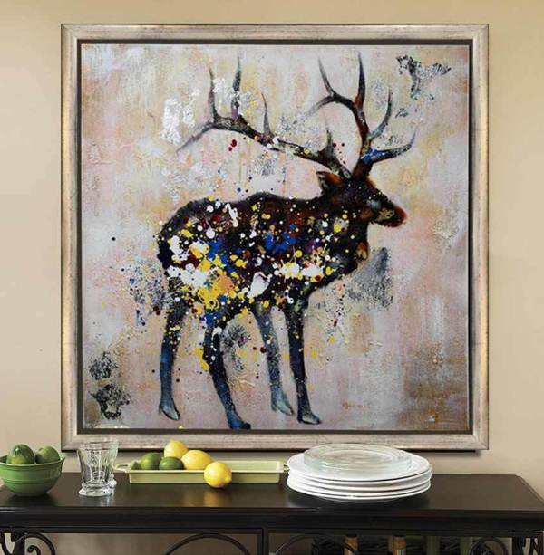 Oil Painting Canvas Abstract Wall Art Decor