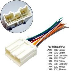 2000 Mitsubishi Mirage Stereo Wiring Diagram Webasto Heater Ccar Radio Harness Adapter For Lancer/galant/outlander/3000gt/diamante ...