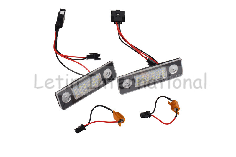 High quality LED License Plate Light Lamp For Skoda