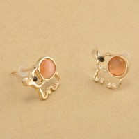 Online Buy Wholesale gold elephant earrings from China