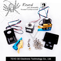 TEVO Tarantula Dual Extruder Upgraded Fully Kits Dual Extruder 4010 cooling fan with two Nema step