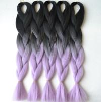Fashion ombre braiding hair two toned Kanekalon jumbo ...