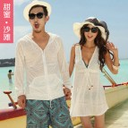 Sweet 2013 Beach Sun Protection Clothing Lovers Women