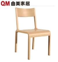 Simple-fashion-furniture-solid-wood-bending-design-dining ...