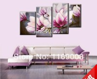 Pink Orchid Canvas Wall Art - hot sell canvas wall art ...
