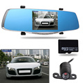 5 0 inch 1080P Professional Car Rearview Mirror DVR Dual Lens 170 Degree Wide Angle Car
