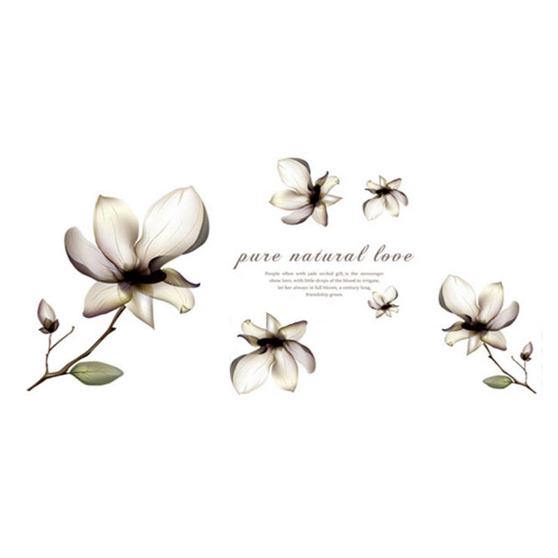 Popular Orchid Wall Sticker