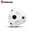 ZGWANG 360 Degree Panorama CCTV Camera Wifi 960p HD Wireless VR IP Camera Remote Control Surveillance