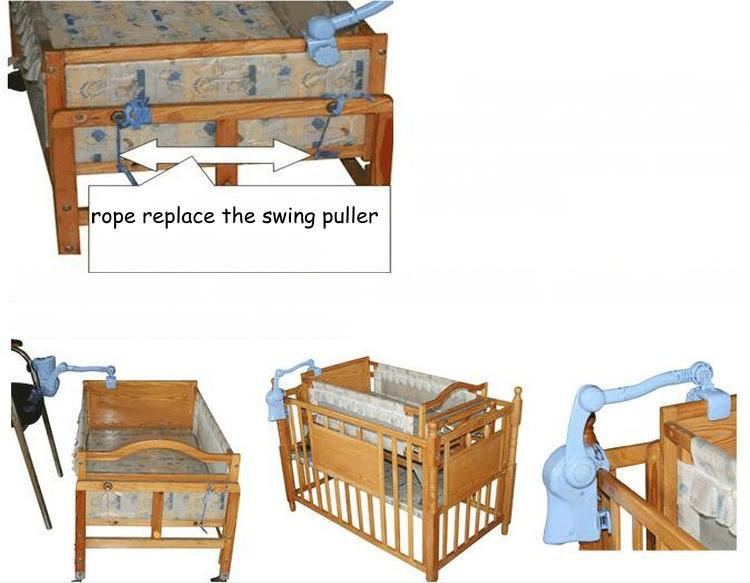 ᗑNo hay radiación eléctrica bebé mecedora cuna, Swing bebé cunas ...