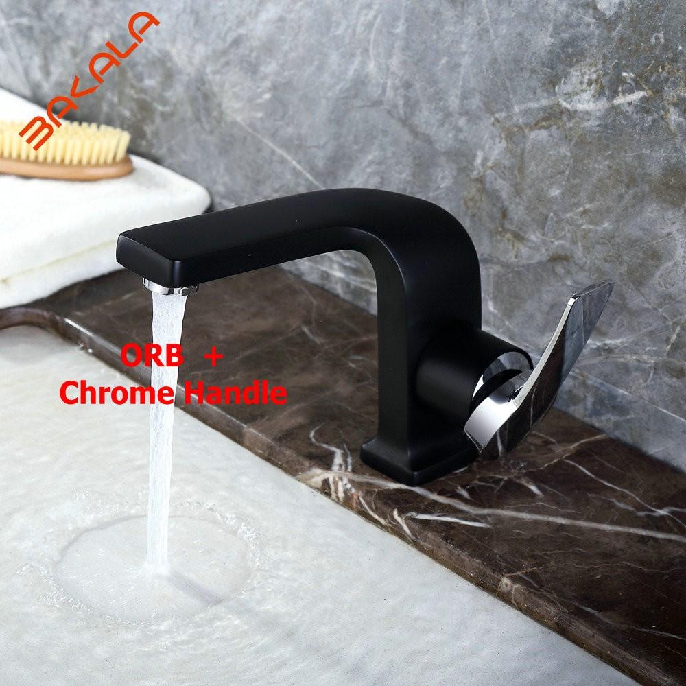 ✓BAKALA Luxury Designs Fashionable Tap Bathroom Chrome/Black ...