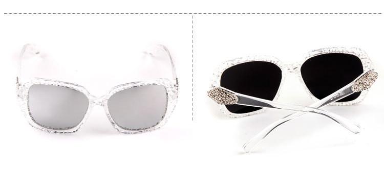 ZHANG Lunettes de soleil mode femme afflux de lunettes de soleil rétro de style européen et américain des lunettes de soleil, a8
