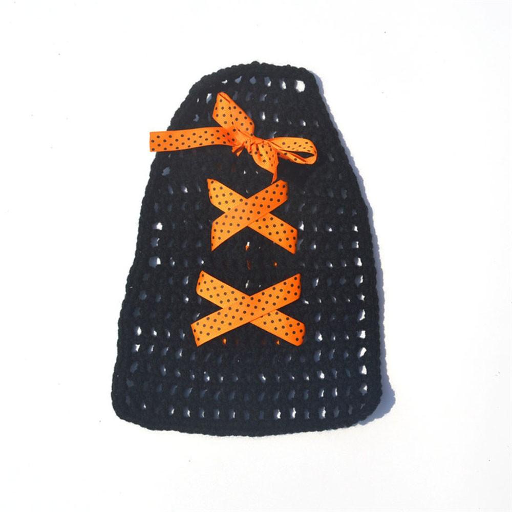 ᑐRecién Nacido últimas sombrero de bruja capa y escoba set crochet ...