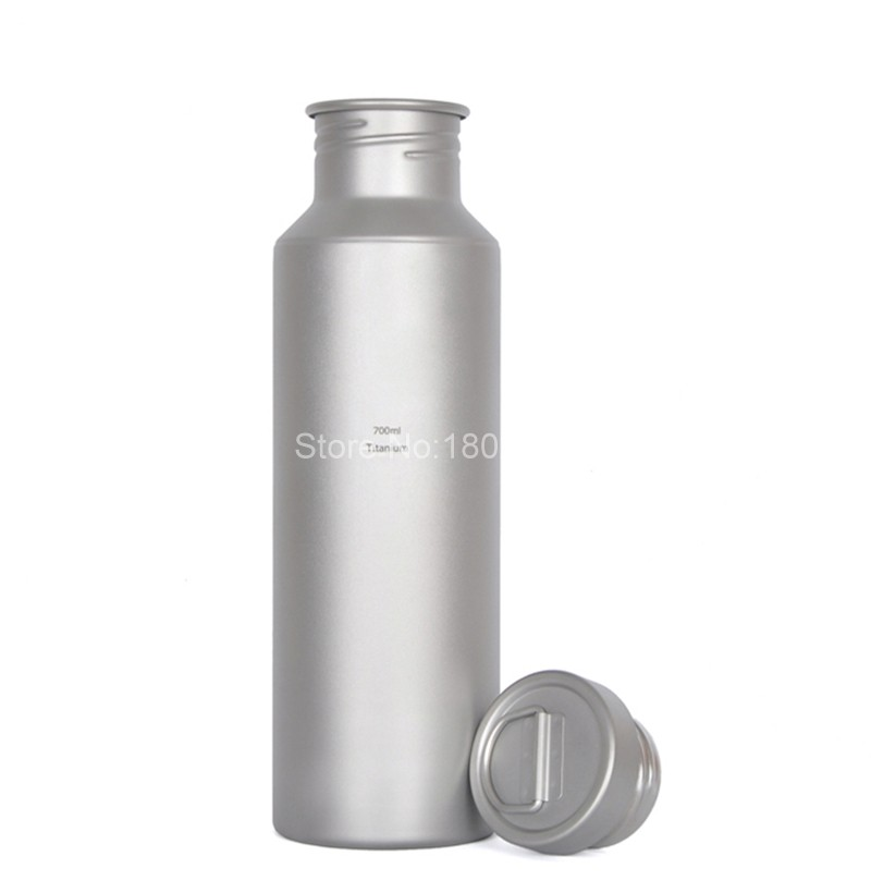 ⑥Keith Venta caliente 700 ml titanio mi botella con bolsa Shaker ...