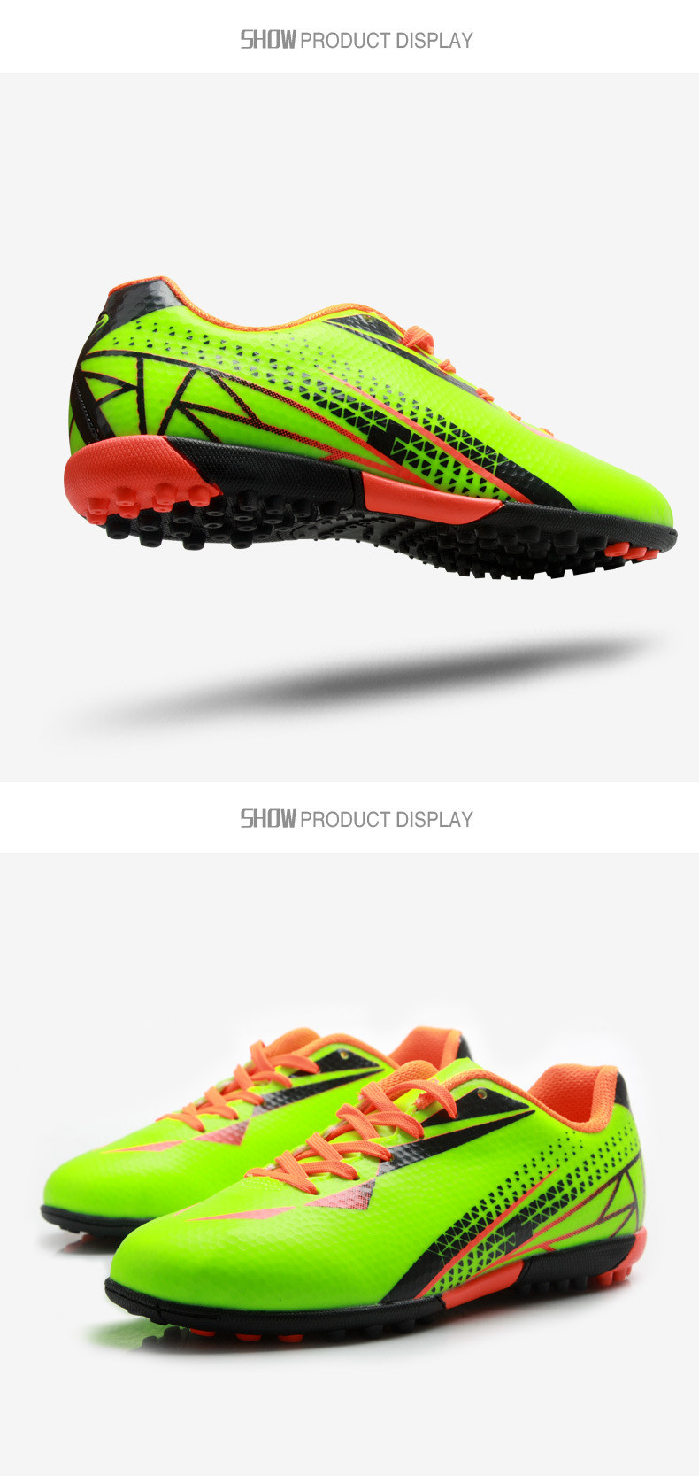 new soccer shoes boots futsal chaussures foot mens indoor football boots voetbalschoenen football cleats soccer shoes 3 colorsusd 35 99 pair  [ 790 x 1667 Pixel ]