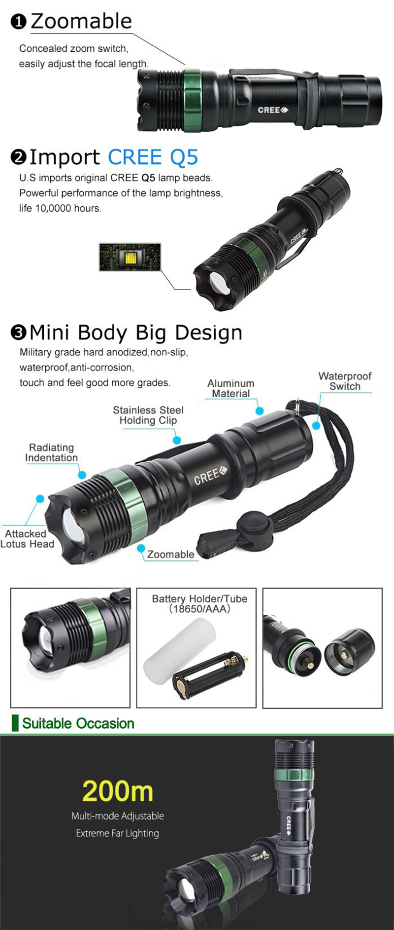 F4 Promotion Best Mini Led Flashlight Super Strong Lumens Lanterna Flash Light Studio Licht Chrome Pro 250 If Not Receive During The Promised Shipping Timeplease Contact Us Before Leave Review We Will Double Check With Post Office And Compemsate
