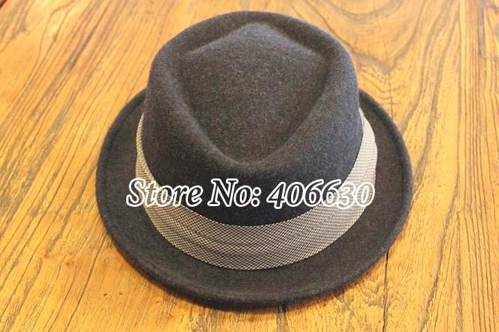 ≧Invierno lana Fieltro Fedora sombreros hombres chapeu Panamá ... ca559bac641