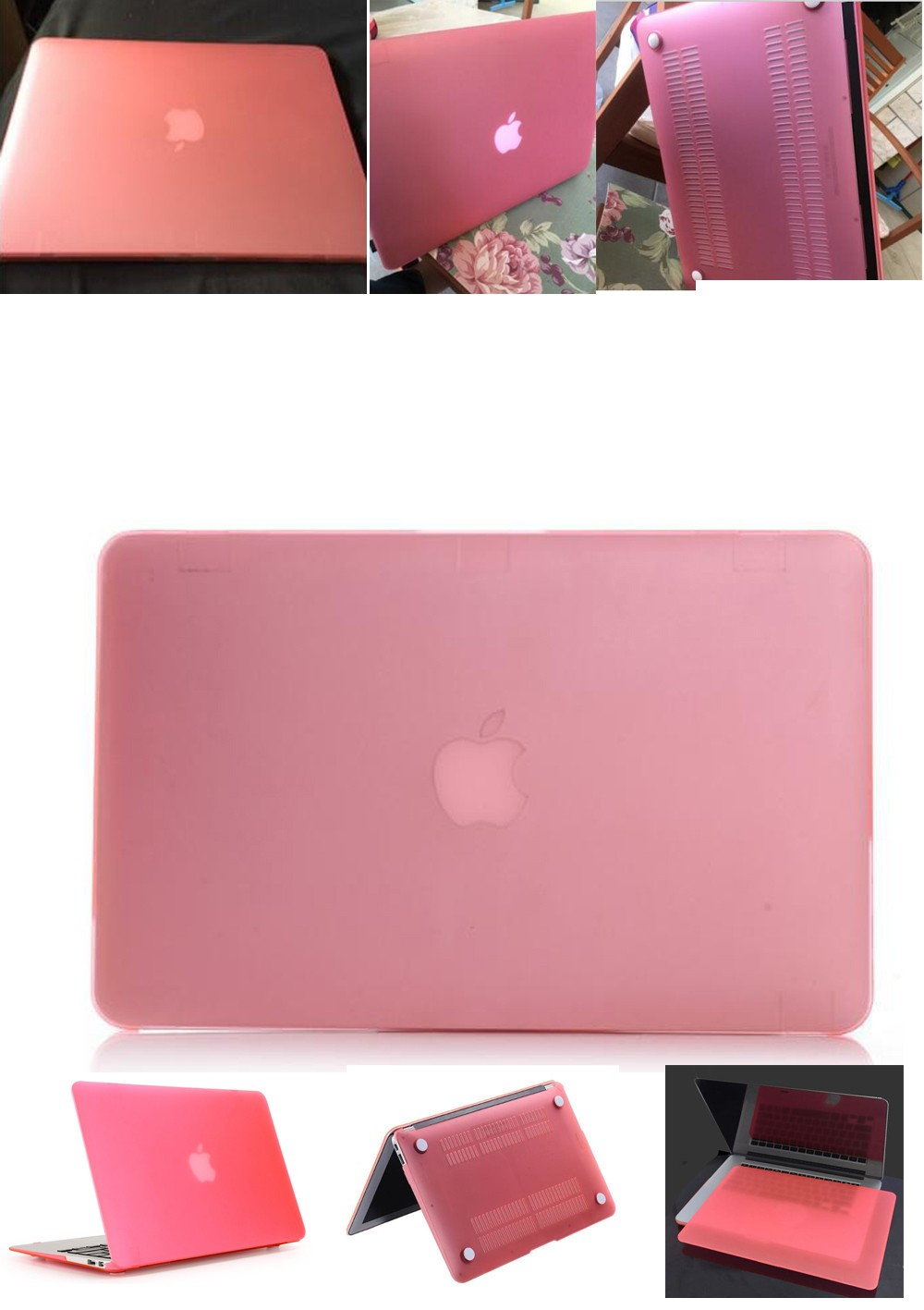 Frost Matte Laptop Case Protective Shell For Apple Mac Macbook Pro Moko Sweet Lip Creme Nude Metal Click Here Retina 12 13 154 Air 11 116 133