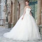 Poofy Ball Gown Wedding Dress