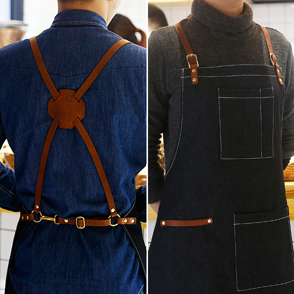 Denim Work Aprons For Men Pictures to Pin on Pinterest