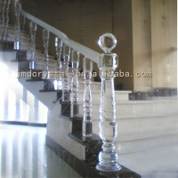 Luxury-Crystal-Glass-Stairs-Railings-Column-Staircase ...
