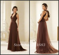 Popular Light Brown Bridesmaid Dresses-Buy Cheap Light ...