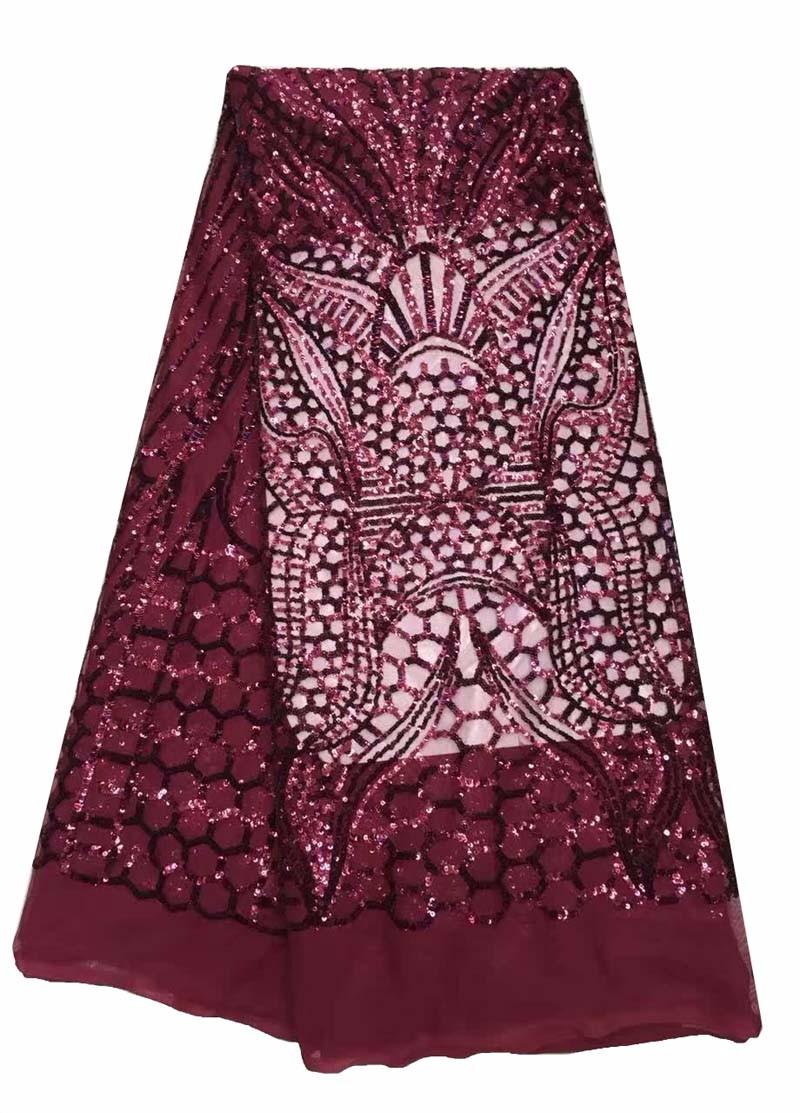 1m 55mm púrpura cinta del telar jacquar bordado de encaje y apliques Decoración de recorte