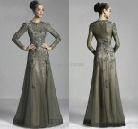 Mother of the Bride Gowns Long Sleeve Dresses