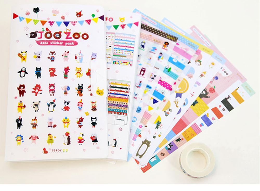 220pcs 10bags /lot Music Notes Glitter Foam Stickers 10 Design Scrapbooking Kit Early Educational Kindergarten Craft Toys Oem