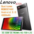 Lenovo מקורי זוק Z1 Z1221 Cyanogen OS 12.1 MSM8974 Quad Core אנדרואיד 5.1 64G ROM 3G RAM 5.5