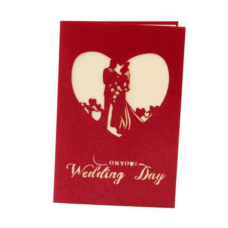 ᐅ3D pop up свадебные открытки открытка Юбилей приглашение ...
