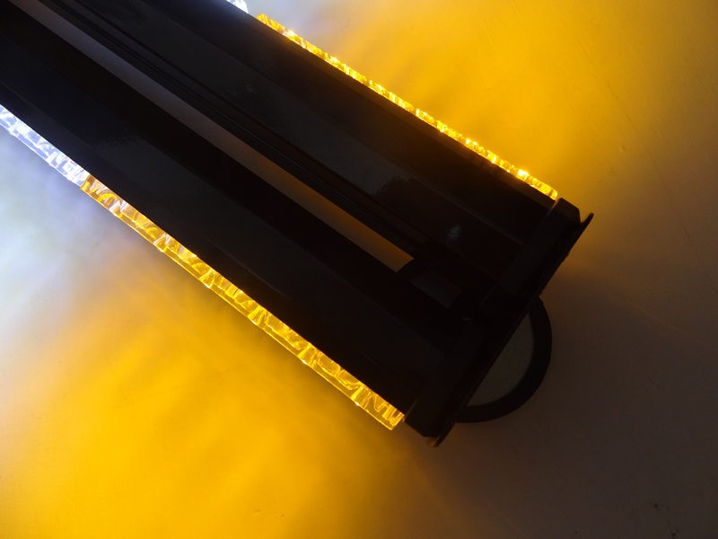 ᐊuniversial 108w Bright 36 Led Strobe Flash Light Red Blue