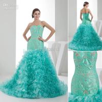 2015 Hot Sale Sweetheart regency color Bridesmaid dresses ...