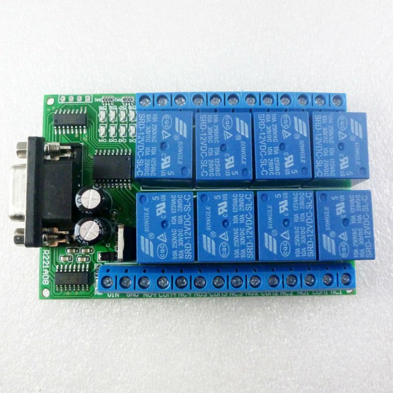 Electronic Switches Relays Wired Simple Pcb Relay Board Kit