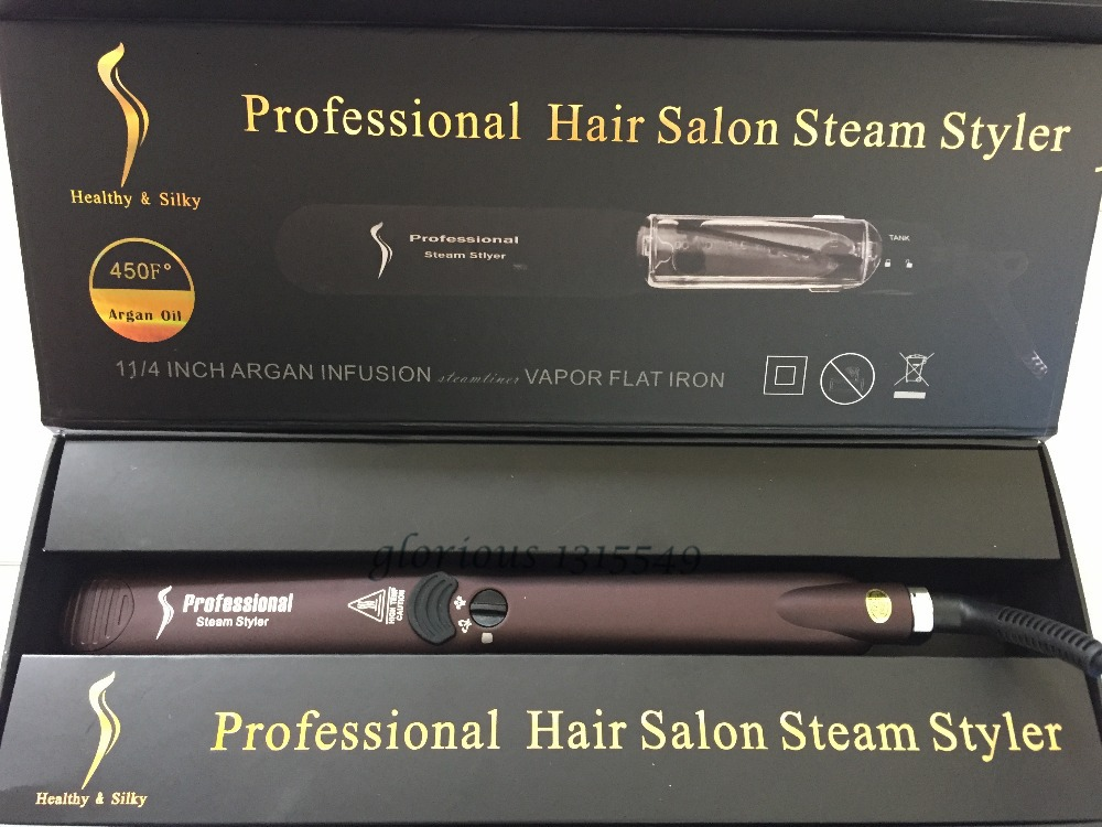 Professional Hair Salon Steam Styler WetDry Hair