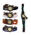 Creative Wholesale Lot Of 5pcs Watches Women Girls Butterfly Bracelet Wrist Watches Fashion Beauty Watches