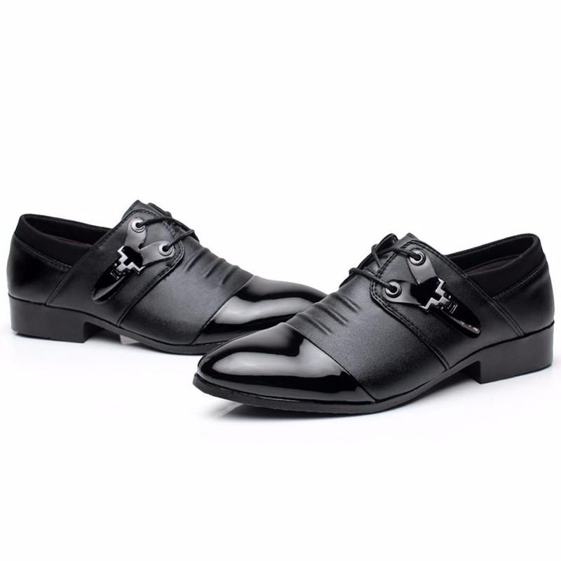 Nouvelle 2016 De Mode de Style Italien Hommes Robe De Mariage Chaussures De  Luxe Hommes D 78b4aafef52