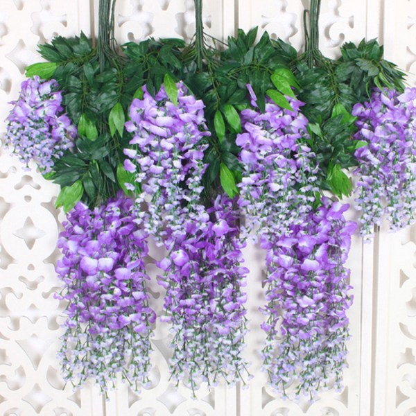 Silk Wisteria Simulation Artificial Plants Watercress