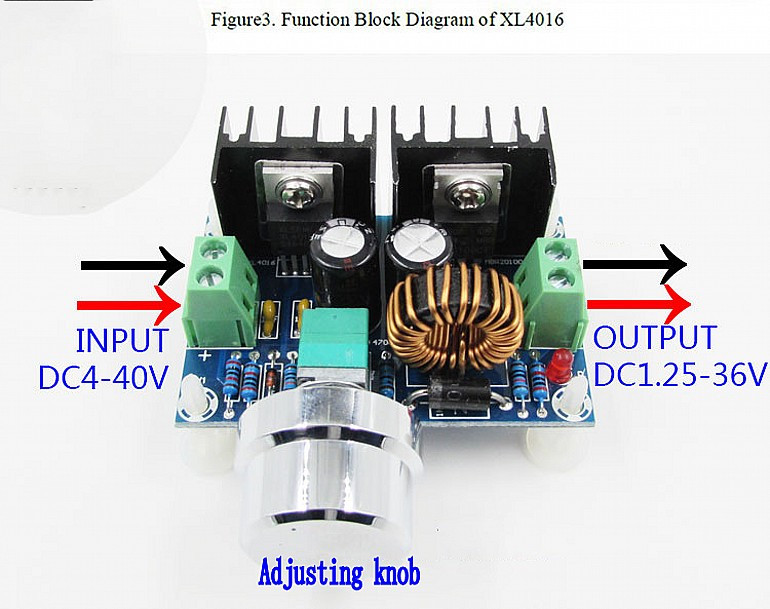 Figure 1 The Switching Dc Regulator From A Step Down Converter Circuit