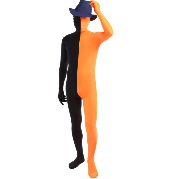Online Cheap Orange Unitard