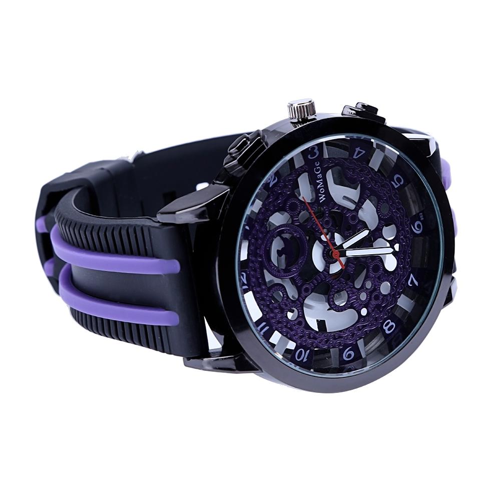 Los hombres del deporte del cuarzo relojes de marca de lujo hombres de  cuero deporte moda cuarzo cuero fecha calendario negocios casual reloj  hombres ... 32747d9b6fb