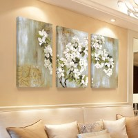 Home Decor Wall Painting Flower Canvas Painting Cuadros ...